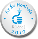 Az Év Honlapja 2010 különdíj